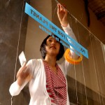 Window Space prep with Machiko Motoi for Ocean Care Day