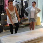 Diesel Peroni Legara installation with TAFE Visual Merchandising students