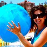 Meltng Earth-ice sculpture, Ocean Care Day-Manly Beach. All photo's ishootmermaids